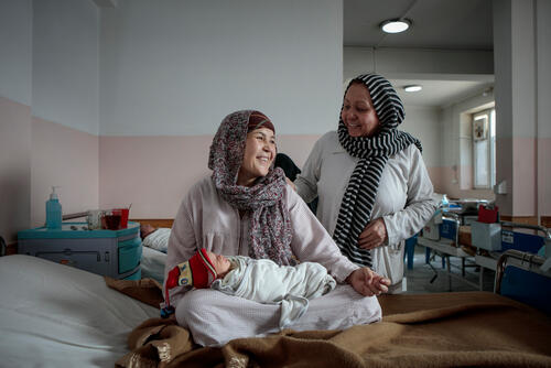 Zakia's new baby – Kabul, Afghanistan, 9 December 2019