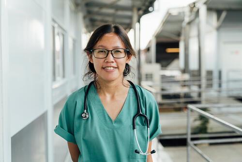 Alexandra Irene Adline, MSF doctor