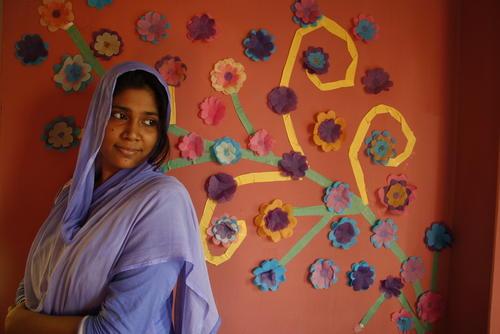 Leah, counsellor, MSF Women's Clinic, Kamrangirchar