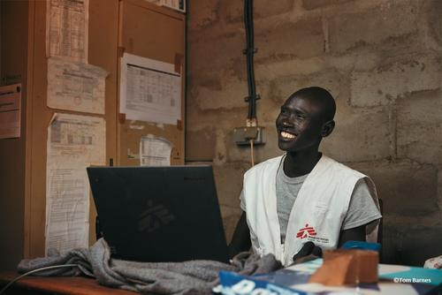 Zakky Titus, logistics assistant