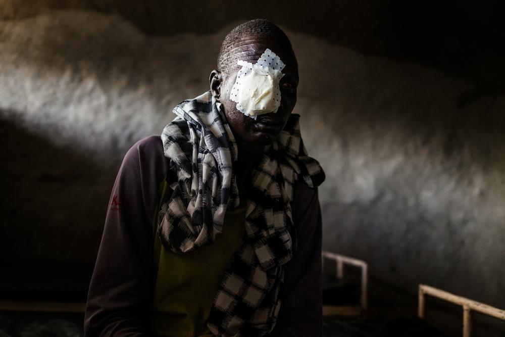 Fleeing Violence Lankien, South Sudan