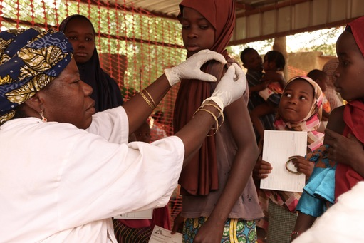 Niger - Meningintis vaccination - April 2017