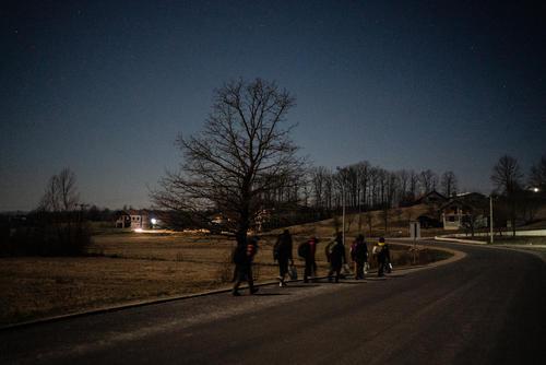 Refugees in Bosnia – between Velika Kladusa and Bihac, Bosnia and Herzegovina, 8 February 2020