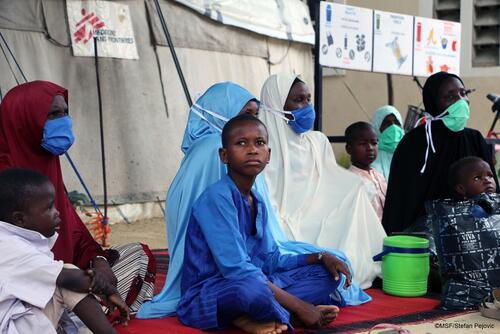 Health education in Gwange, Maiduguri, Nigeria