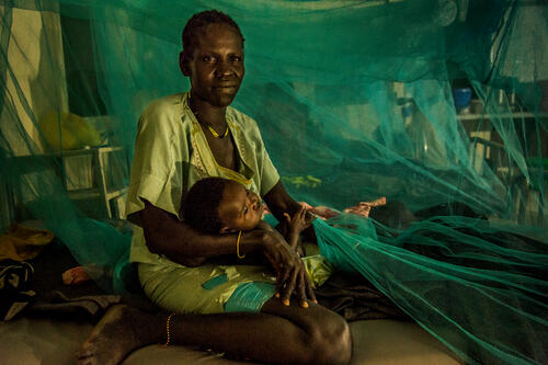 Malaria stories from Old Fangak hospital, South Sudan