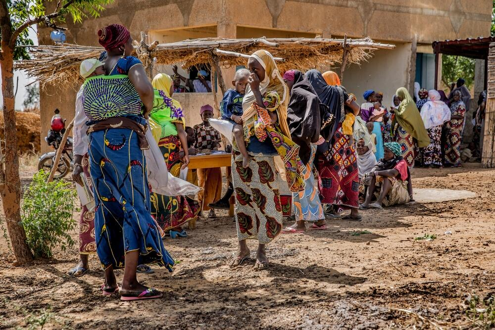 Vaccination campaign in Niger.