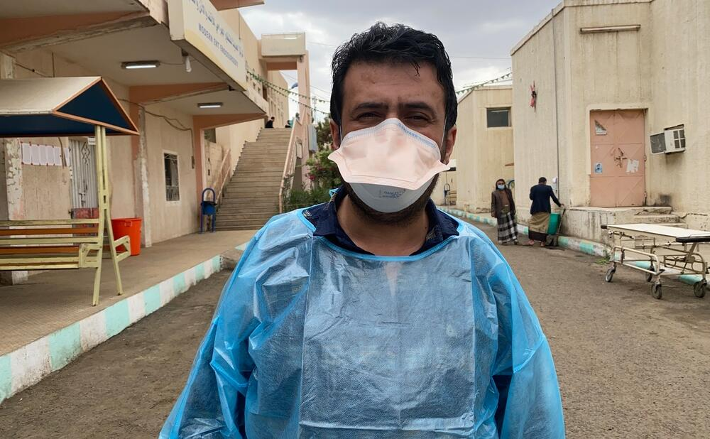 Yemen \\ MSF response to COVID19 second wave in Sana'a