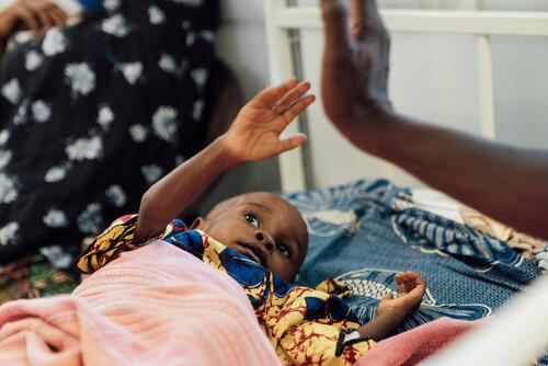 Sheku Kamara, an MSF patient