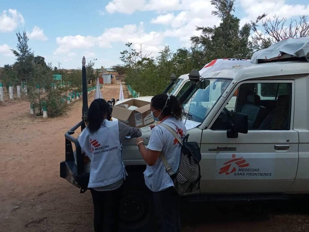 MSF begins supporting local healthcare facilities in eastern and central Tigray