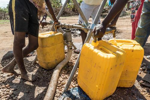 MSF activities in Buzi district