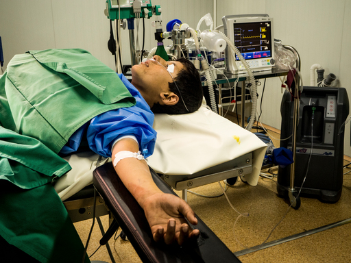 Mosul : Qayyarah hospital