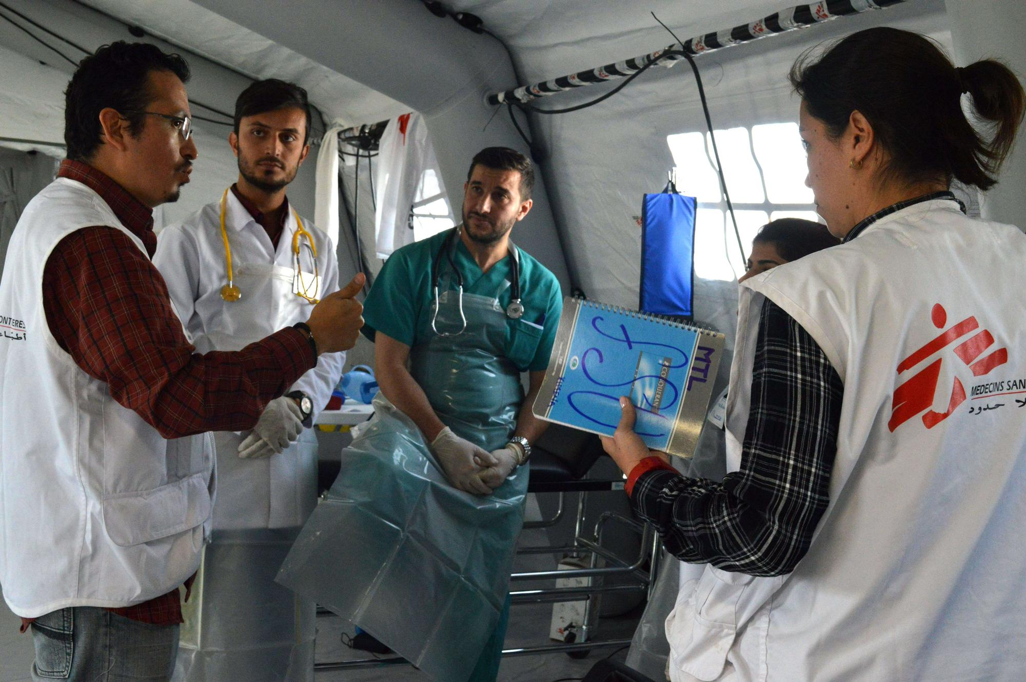 Iraq, Mossul, Surgical Field Hospital