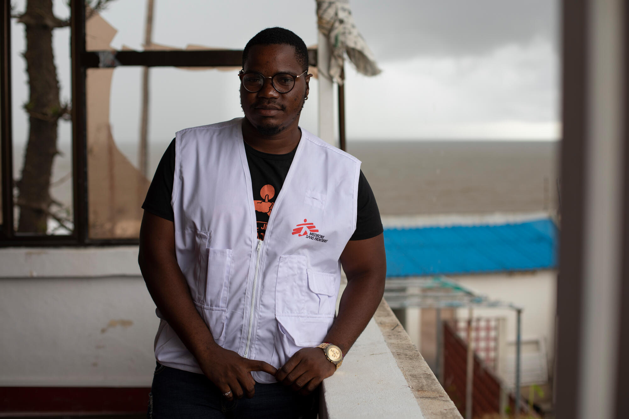 Filipe Francisco Luis, sex worker and key member of MSF's HIV outreach program to men who have sex with men in Beira.