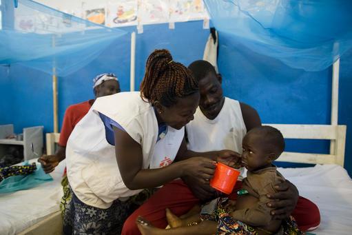 Patiente Ngangu, MSF nurse