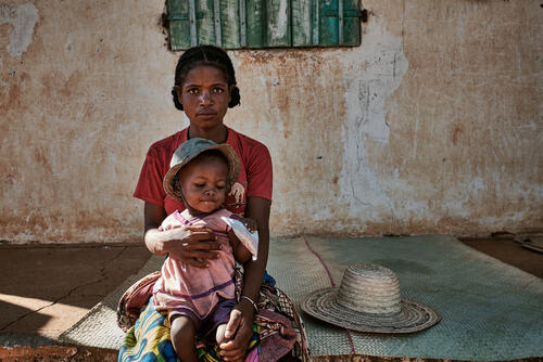 Malnutrition emergency: mobile clinic in Ranobe - Portrait Metee