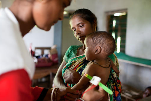 Treating Severe Acute Malnutrition in Chakradharpur block of Jharkhand