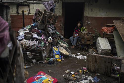 A home ruined by storm Amanda – El Granjero, El Salvador, 2 June 2020