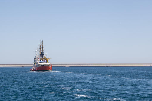 Aquarius leaves Valencia to SAR