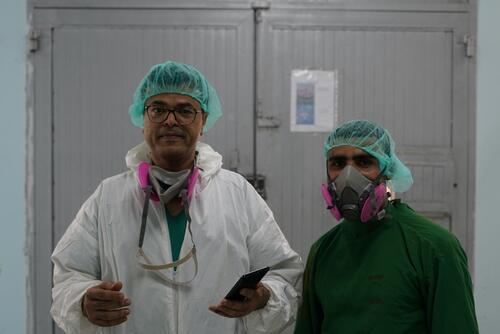 Dr Nizar Jahlan - MSF medical activity manager, Sana'a, Yemen