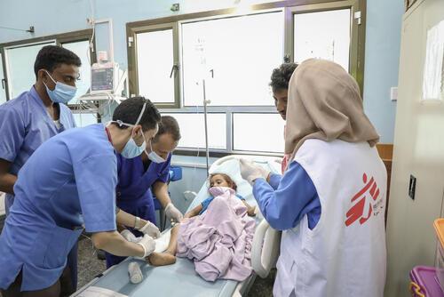 Altaf, Ad-Dahi rural hospital, Yemen