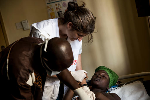 MSF Hospital in Kabala, Sierra Leone