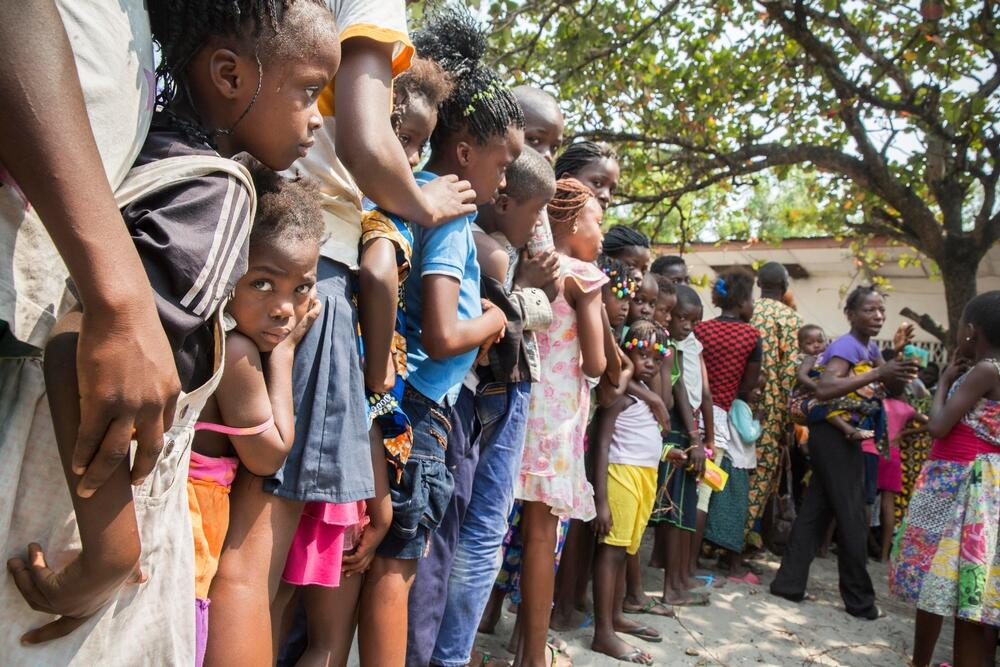 Yellow Fever Vaccination Campaign in Kinshasa