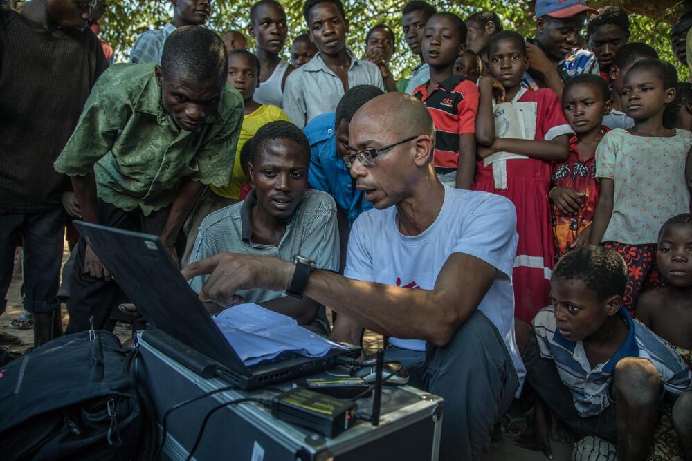 Drones: A helpful humanitarian tool
