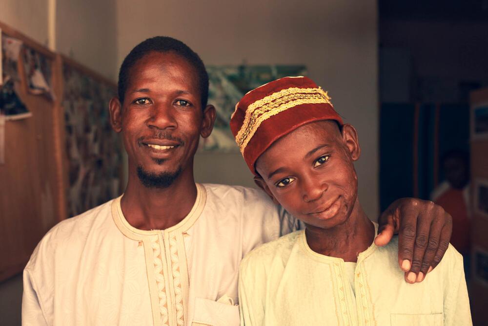Ibrahim and Bouba Ibrahim
