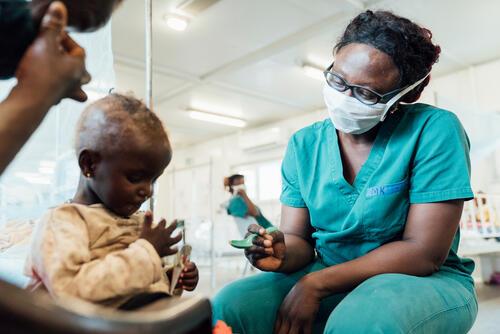 Mariatu Kamara, MSF nurse team supervisor