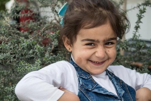 Isla, born at a MSF clinic in Iraq