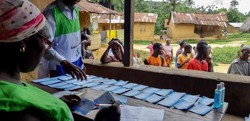 Malaria prevention campaign in Kenema District, Sierra Leone