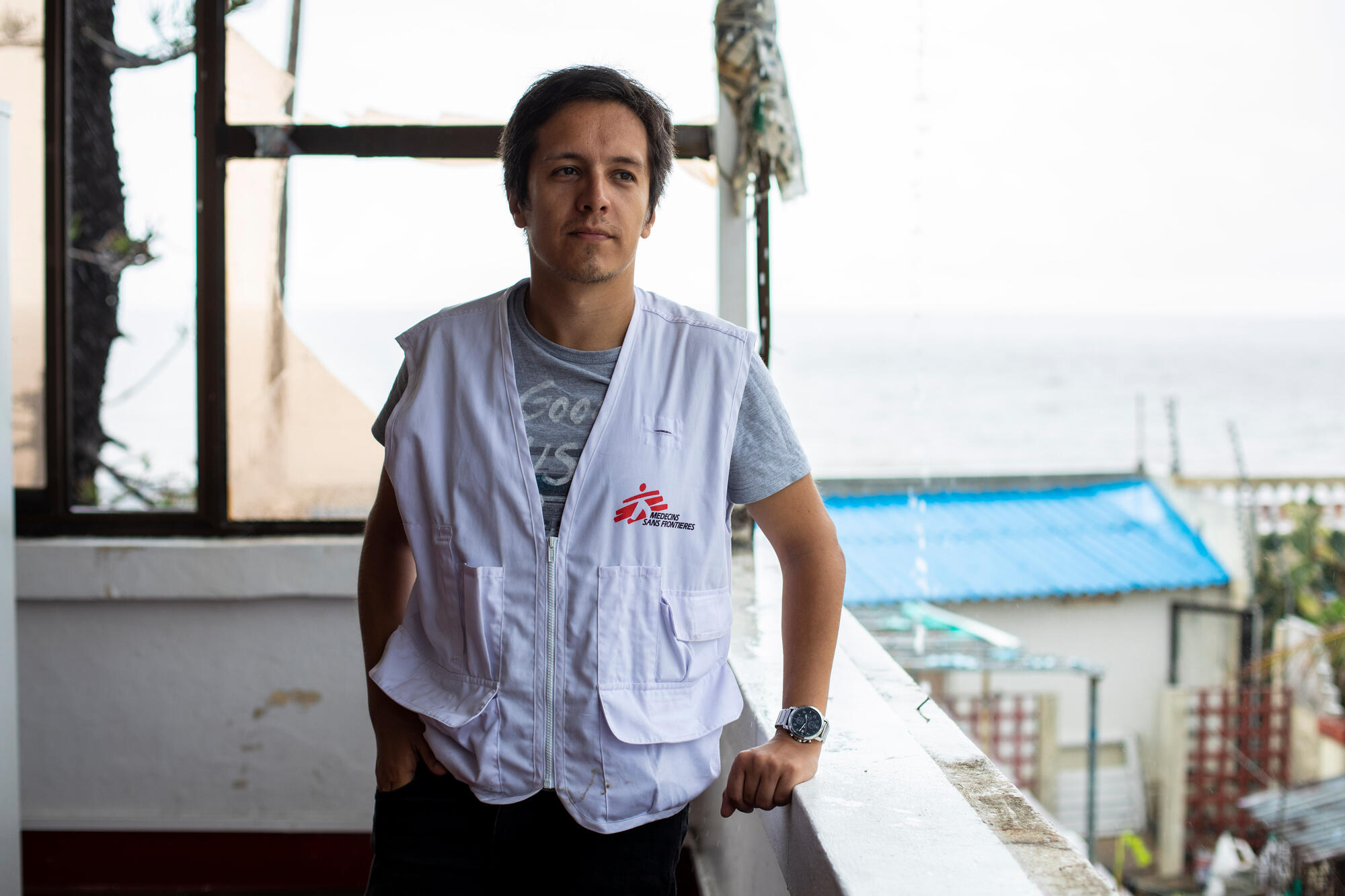 Dr Antonio Flores, infectious diseases specialist in MSF's HIV program in Beira