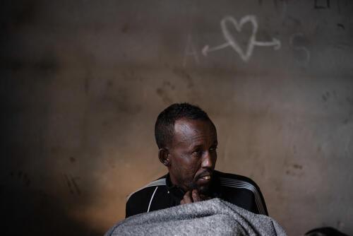 Somali refugee – Gorgi, Libya, 10 January 2020