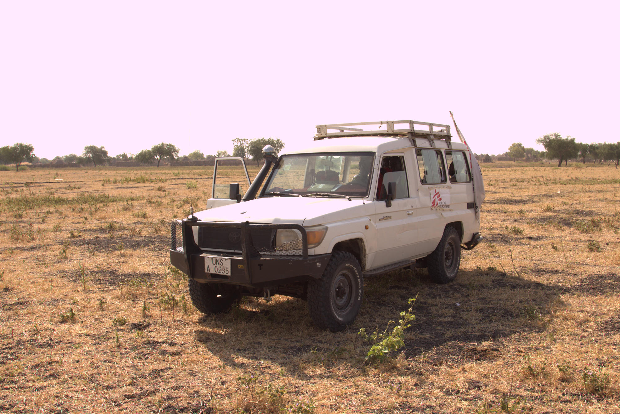 South Sudan: MSF leaves for Dethok village at the crack of dawn