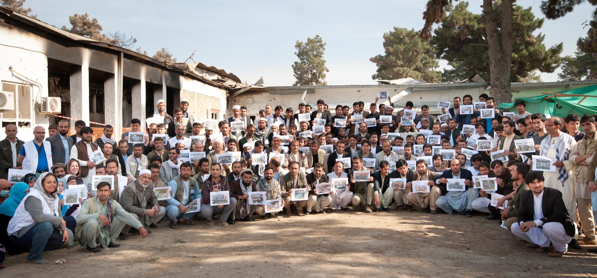 MSF Staff Gather In Kunduz