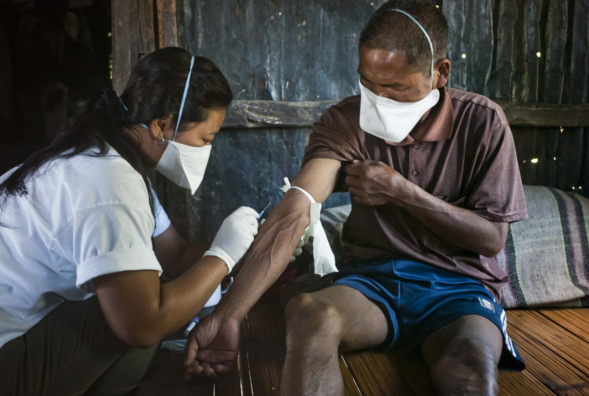 Treating multi drug resistant TB and HIV/AIDS in Manipur, India