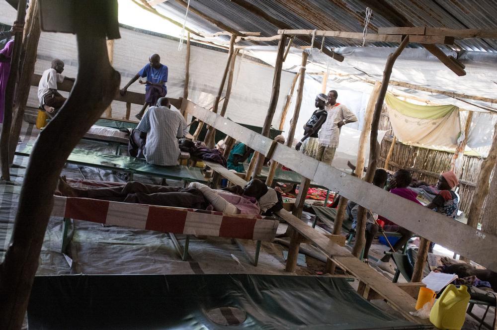 MSF Hospital in Lankien, Jonglei State