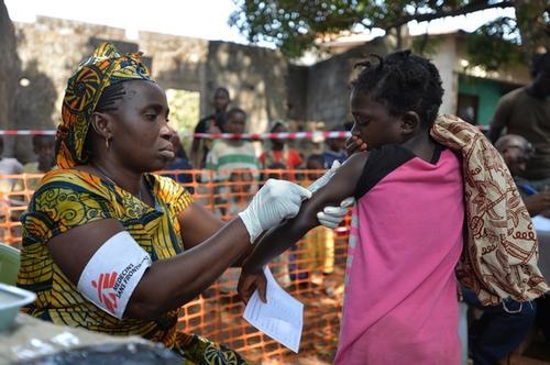 Measles Outbreak, Conakry, Guinea 2014