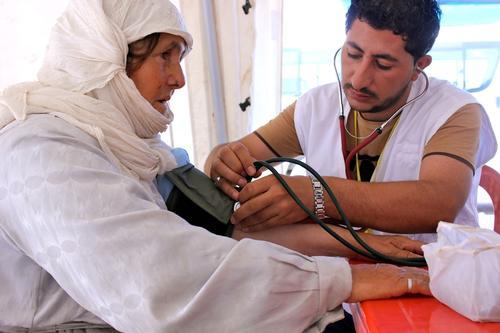 Iraq - Medical care for Syrian crossing the Iraqi Kurdistan border