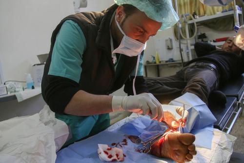 MSF´s Al Salamah hospital in Azaz