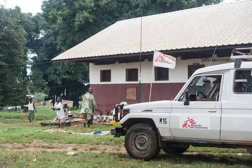 IDPs in Bossangoa