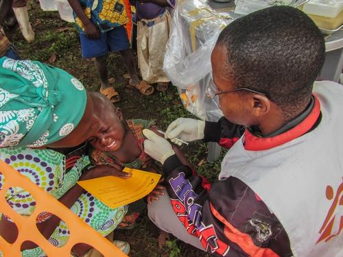 Mulungu DRC measles vaccination