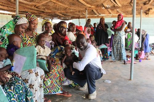 Thok Johnson: From refugee to aid worker – my story