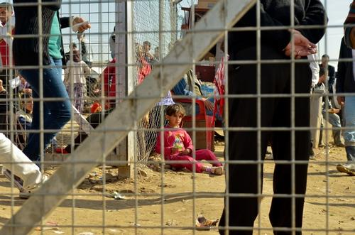 Influx of Syrians into Domeez Camp, Iraq