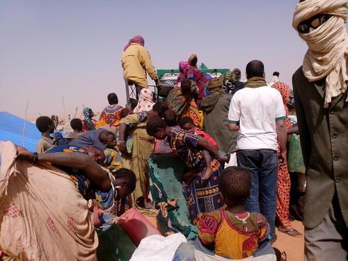 Refugee Camp, Mbera Mauritania Jan 2013