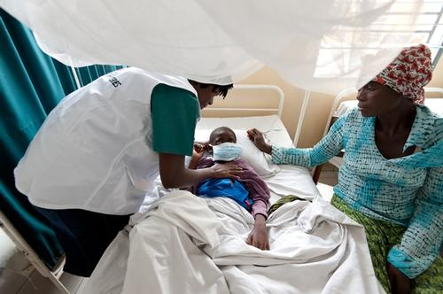 HIV-AIDS hospital in Kinshasa