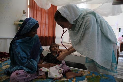 Dera Murad Jamali Hospital. Eastern Balochistan, Pakistan.