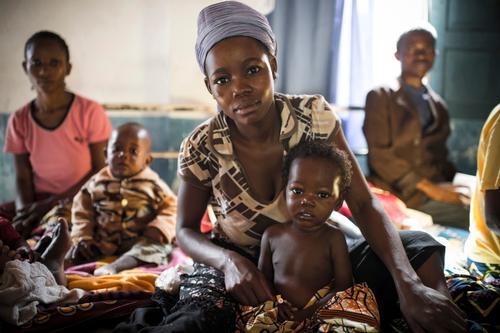 Baraka, South Kivu, DRC, March 2014. Josine Blanksma at work and in and around hospital.