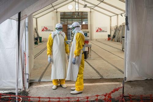 Ebola decline in Liberia