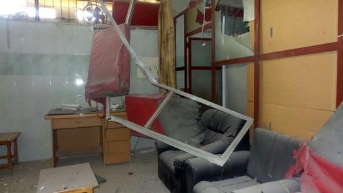 Airstrikes hit an MSF-supported hospital in Dara'a governorate.